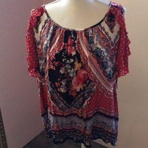 Colorful blouse Size XL